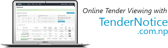 Online Tender Viewing with TenderNotice.com.np