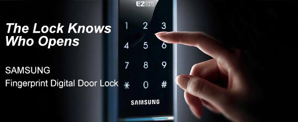 Samsung Fingerprint Digital Door Lock